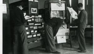 periodicals area