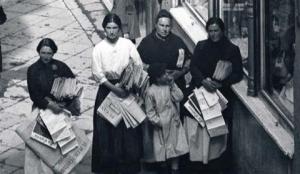 Vendedoras el cantabrico