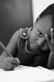 Writing  baby