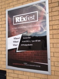 Rexfest poster