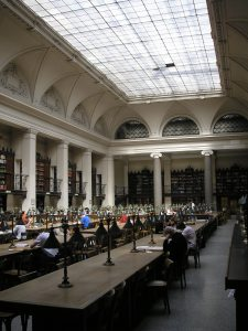 The Vienna University Library (Photo credit: Wiki Commons)